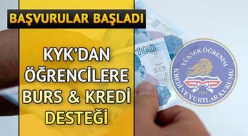 KYK burs ve kredi başvurularının başladığını duyurdu - e Devlet KYK burs başvuru sayfası
