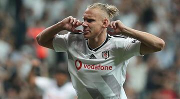 Beşiktaşta Vida sevinci Derbide...
