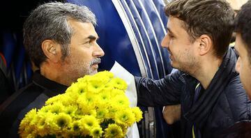 Fenerbahçe taraftarından Aykut Kocamana jest