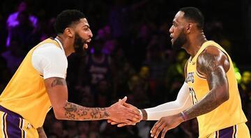 NBAde gecenin sonuçları | Davisten üç çeyrekte 40 sayı, 20 ribaunt ONealdan bu yana...