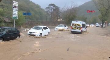 Meteoroloji İstanbulu uyarmıştı, Beykozda yollar göle döndü