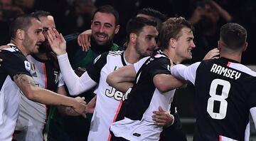 İtalyada Torino derbisi Juventusun