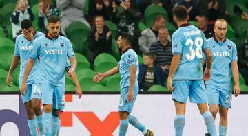 Trabzonsporun gençleri Krasnodara direnemedi
