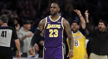 NBAde gecenin sonuçları | Lakerstan üst üste 7. galibiyet...