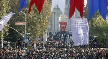 Saat 09:05te Türkiyede hayat durdu