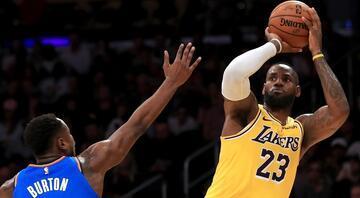 Yok artık LeBron James 30 takımın tümüne triple-double...