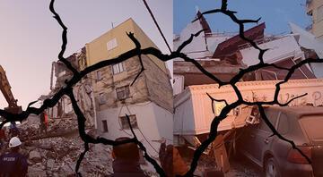 Son dakika... Arnavutlukta 6.4 ve 5.4 büyüklüğünde peş peşe depremler