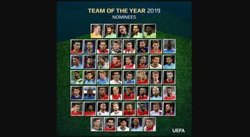 UEFAda yılın 11i için oylamalar başladı