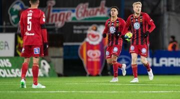 Galatasarayı eleyen Östersundsa küme düşme şoku