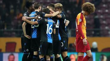 Brugge maçında tarihi olay Golden sonra...