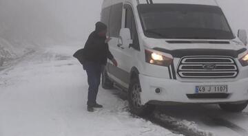 Muşta kar yağışı ve tipi ulaşımı etkiledi