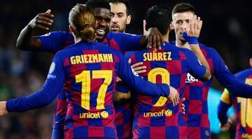 Barcelona evinde Dortmundu dağıttı