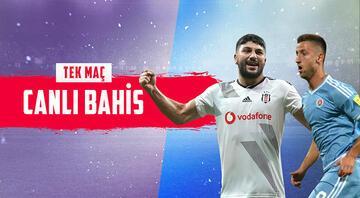 Beşiktaş, Slovan Bratislava ile prestij maçında Her iki takımın da gruptaki...