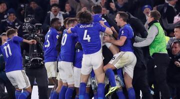 Leicester City 90 4de güldü