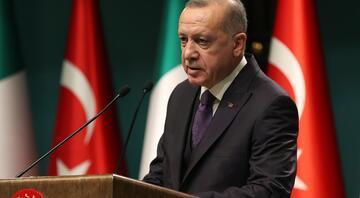 Cumhurbaşkanı Erdoğan ile İtalya Başbakanı ortak basın toplantısı düzenledi