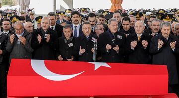 Şehit Toptaş, Ankarada son yolculuğuna uğurlandı