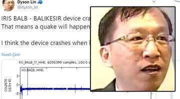 Bu kez depremi tutturdu... Yorum yağdı