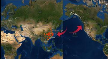 Korkutan harita İşte koronavirüsünün görüldüğü ve riskli olan yerler