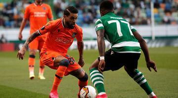 Sporting-Başakşehir maçından en özel kareler