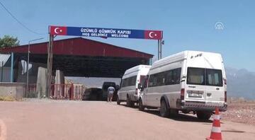 Iraka açılan Üzümlü Gümrük Kapısı giriş- çıkışlara kapatıldı