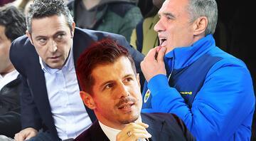 Fenerbahçeden ters köşe Yeni teknik direktör...