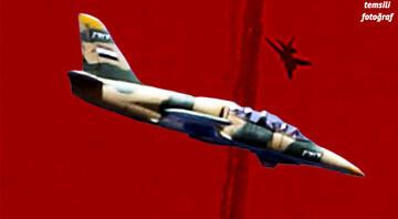 Milli Savunma Bakanlığı duyurdu... Rejime ait bir L-39 tipi savaş uçağı düşürüldü