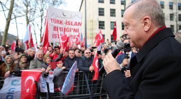 Cumhurbaşkanı Erdoğan, Brükselde gurbetçilere seslendi: Corona virüse dikkat
