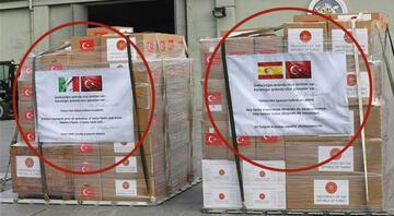 Türkiyeden İspanya ve İtalyaya tıbbi yardım... Askeri kargo uçağı Ankaradan havalandı