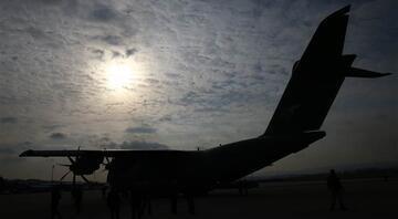 MSB: Yardım taşıyan uçak İspanyaya indi