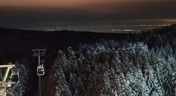 Hava kirliliği azaldı Uludağdan İstanbulgöründü...