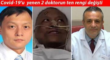 Salgının başladığı Çin'de koronavirüsü yenen doktorların ten rengi değişti