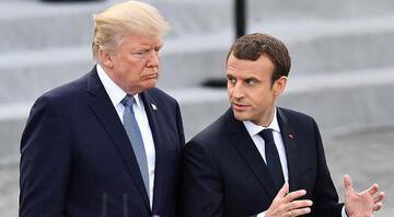 Trump ve Macrondan Libyadaki gerginliğin bir an önce azaltılması vurgusu
