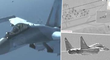 ABD, Rus uçaklarının fotoğraflarını yayınladı Rusyadan jet yanıt