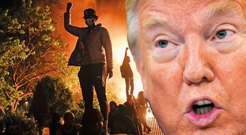 Twitter'dan Trump'ın o sözlerine sansür: Yağma başlarsa ateş açarız