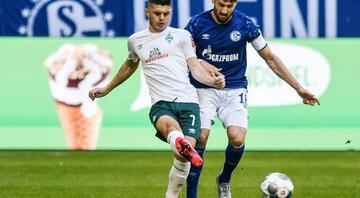 Schalke 04 - Werder Bremen maçından fotoğraflar