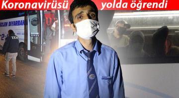 Otobüste koronavirüs paniği Muavini alnından öpüp 50 lira bahşiş vermiş...