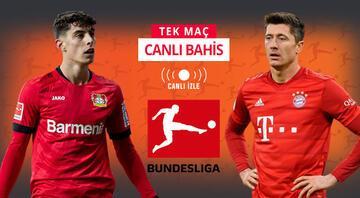 Lider Bayern, zorlu Leverkusen virajında Bundesligaya banko iddaa tahmini...