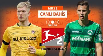 2. Bundesliga maçları Misli.comda CANLI Öne çıkan iddaa tahmini ise...