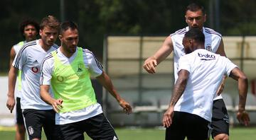 Beşiktaşta iyi haber NKoudou takımla çalıştı...