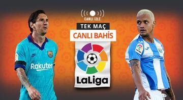 Mallorcayı farklı geçen Barcelona, Leganesi ağırlıyor Kazanırlar ve maçta 3 gol olursa iddaada...