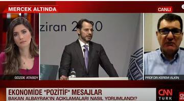 Prof. Dr. Kerem Alkin CNN TÜRKte değerlendirdi