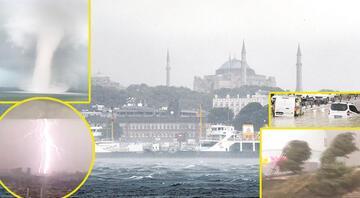 Süper hücre İstanbulda Elini uzattı yardım istedi