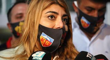 Kayserispor Başkanı Berna Gözbaşı: Mensahı isteyen kulüpler var