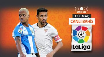 La Ligada günün en kritik maçlarından biri Leganes, Sevilla karşısında da kazanamazsa...