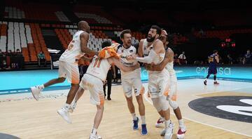 İspanya 1. Basketbol Liginin şampiyonu Baskonia oldu