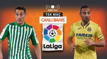 Son 5 maçtan 12 puan çıkartan Villarreal, Real Betis deplasmanında iddaada en çok...