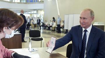 Son dakika: Rusyadaki halk oylamasından Putine destek kararı çıktı