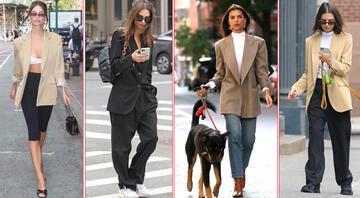 Sokak Stili: Emily Ratajkowskiden Blazer Ceket Giyme Dersleri