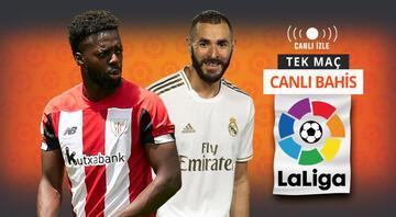 San Mameste kritik randevu Real Madridin Athletic Bilbao karşısında iddaa oranı...