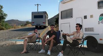 Acemi kuzenlerin 11 günlük karavan maceraları